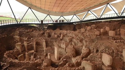 Gobeklitepe is an archaeological excavation site which is located near Sanliurfa 12,000 years ago and is the first temple of the world.