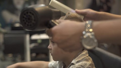 500 Kid Hair Dryer Stock Video Clips And Footage Royalty Free