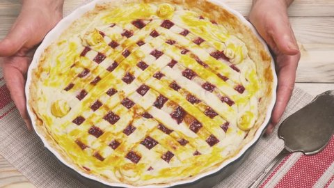 A Fresh Meat Lovers Pizza Stock Footage Video 100 Royalty