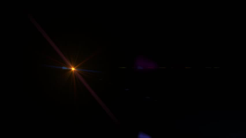 Bright Orange Lens Flare   Shutterstock HD Video #1021233817