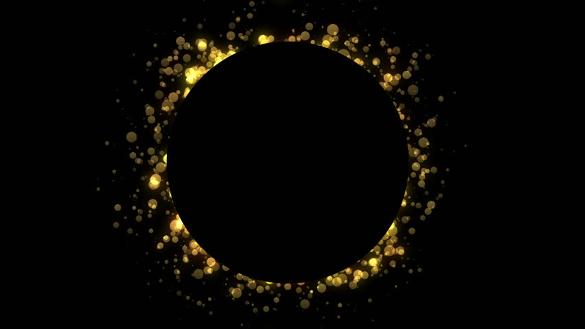 Abstract golden particles with space for your text. | Shutterstock HD Video #1021238797