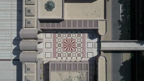 Short Sequence of Oman, Muscat - Sultan Qaboos Mosque Rise Yard Ungraded