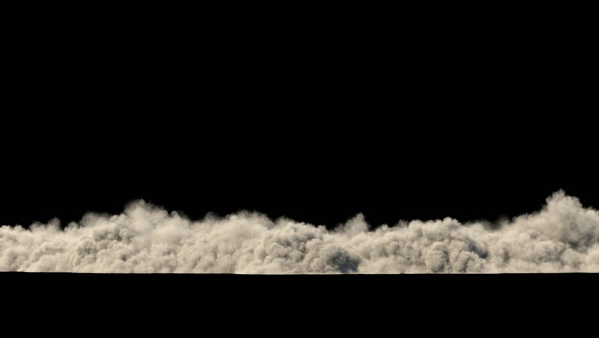 Dust clouds from the destruction of the building / Sand storm / Explosion smoke. Separated on pure black background, contains alpha channel. | Shutterstock HD Video #1021346707