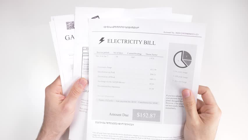 Looking at House Utility Bills: Stock Footage Video (100% Royalty-free)  1021491487 | Shutterstock