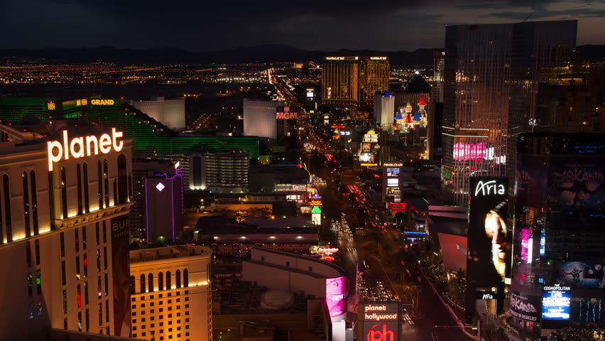 April 2017 Las Vegas Nevada Time Lapse Of The Strip At Night