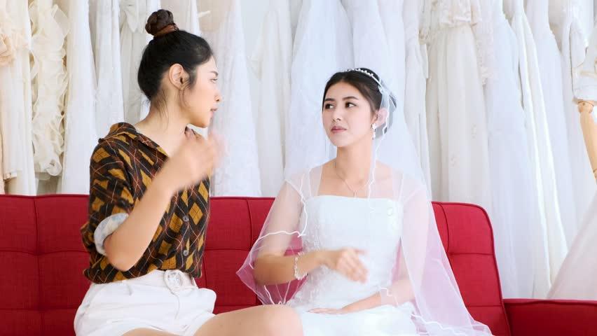 All asian lesbian brides apologise