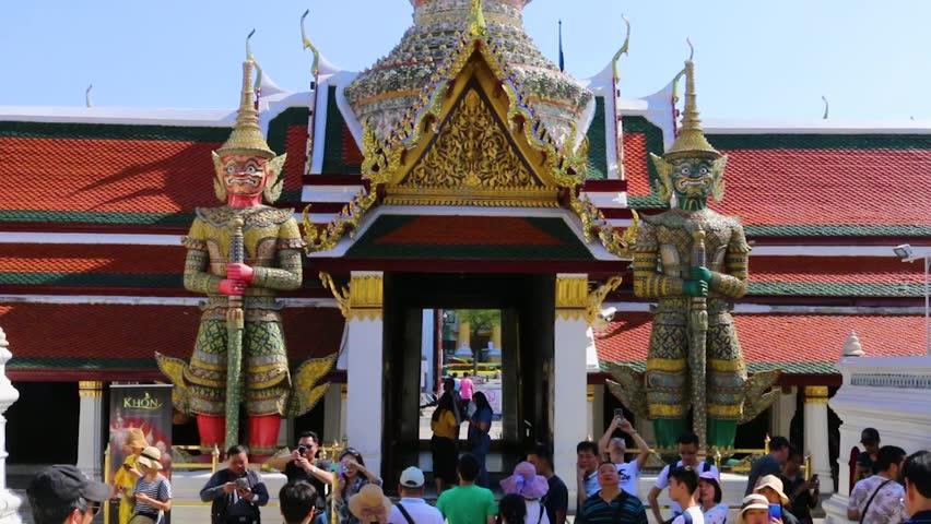 Bangkok, Thailand - October 11, Stock Footage Video (100% Royalty-free)  1022823667 | Shutterstock