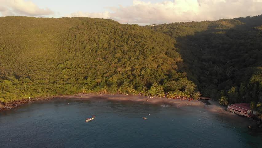 Sailing Holiday in St. Lucia   Shutterstock HD Video #1022912527