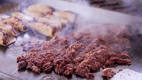 Birria  is a Mexican dish from the state of Jalisco.The dish is a spicy stew, traditionally made from goat meat or mutton