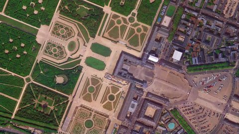 Earth Zoom from Palace of Versailles - Versailles - France