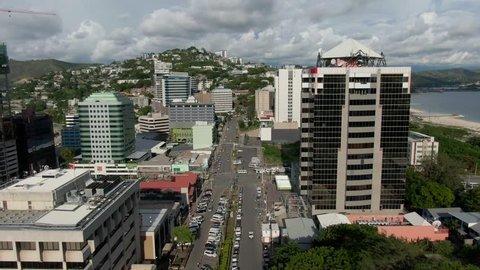 Port Moresby, Papua New Guinea - 2019: Town
