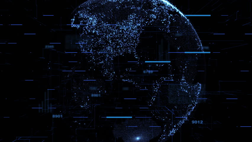 Global connection technology and business concept motion background | Shutterstock HD Video #1023359557