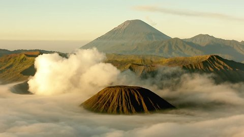 Time Lapse video of Mount Bromo .One of the active volcano in East Java ,Indonesia. It is also known as one of the most visited place by tourists in Indonesia.