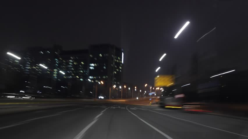 Night Drive Hyperlapse Seoul 4K | Shutterstock HD Video #1023616477