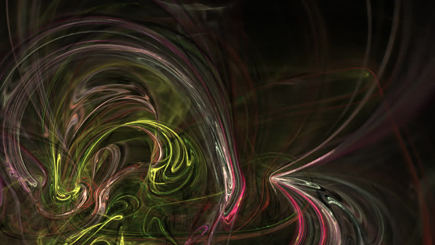 Abstract fractal forms morph and oscillate (Loop) | Shutterstock HD Video #1024499207