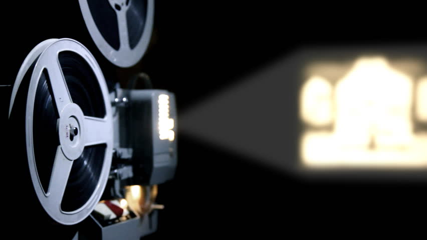 Old Projector Showing Film Stock Footage Video (100% Royalty-free) 10245047  | Shutterstock