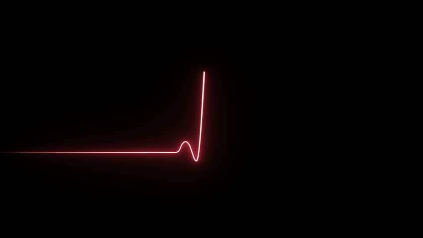 Neon symbol design sign amazing cool 4k colorful abstract background heart beat line 4k neon light heartbeat display screen medical research show sign colorful abstract background 4k neon symbol sign | Shutterstock HD Video #1024729907