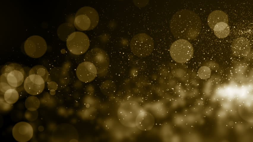 Particles gold bokeh glitter awards dust abstract background loop | Shutterstock HD Video #1024919567