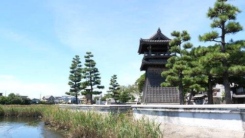Tokaido 53th / Passing of Shichiri -hori River Miyajuku (Aichi Prefecture Nagoya City Atsuta Ward) Japan