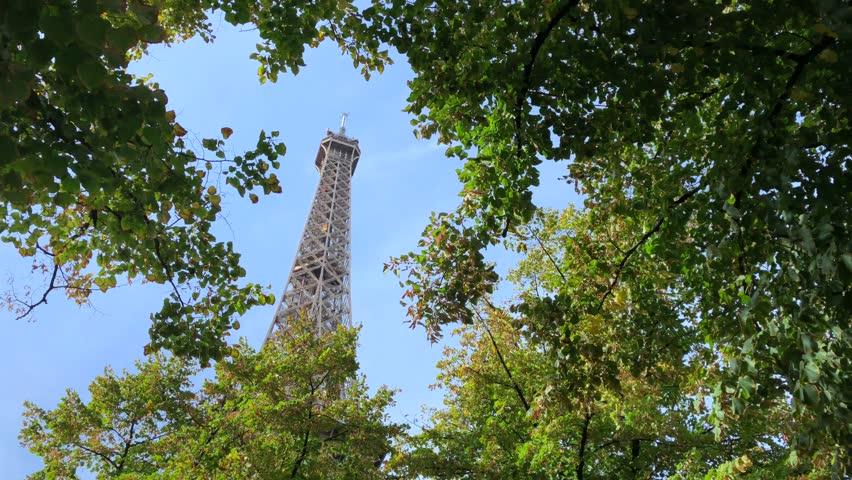 Eiffel Tower Paris France    Shutterstock HD Video #1025723357