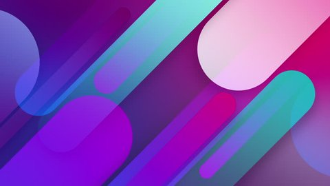 abstract seamless background blue purple spectrum looped animation fluorescent ultraviolet light glowing neon lines Abstract background with neon box circle pattern LED screens 4k projection mapping
