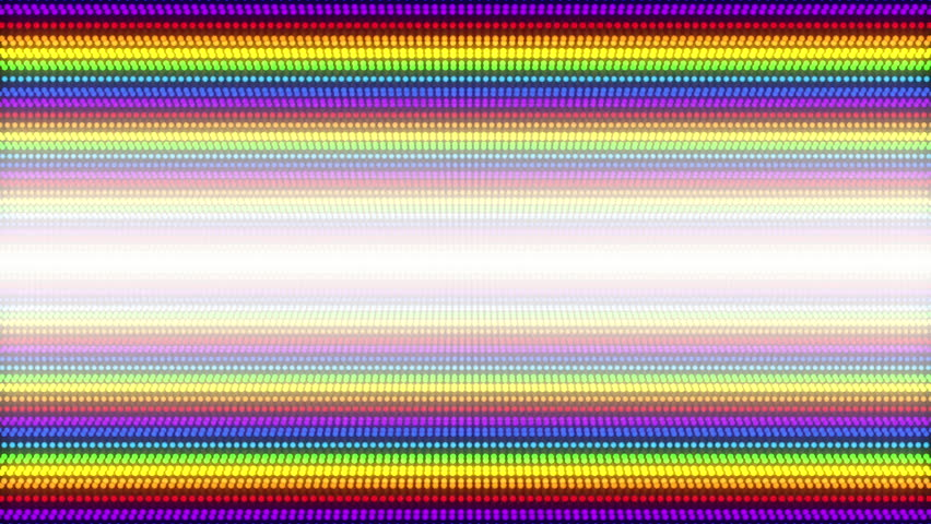 Rainbow LED light loop background #1026246047
