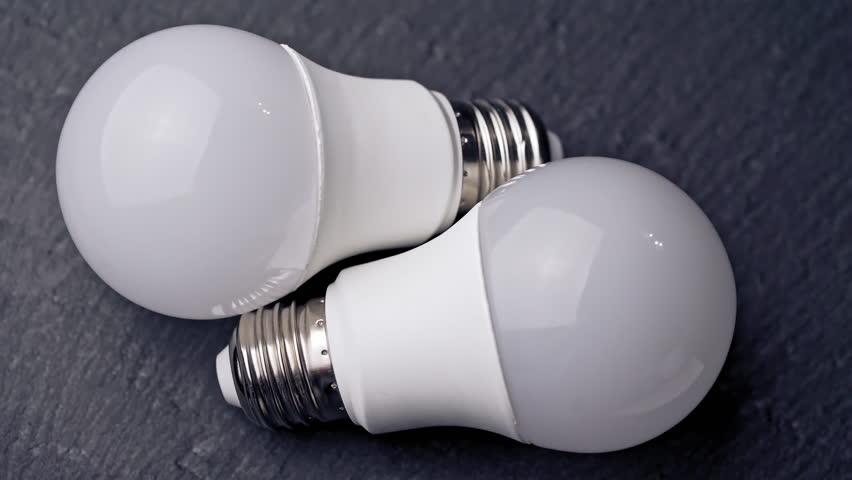 Light bulbs close up | Shutterstock HD Video #1026359387