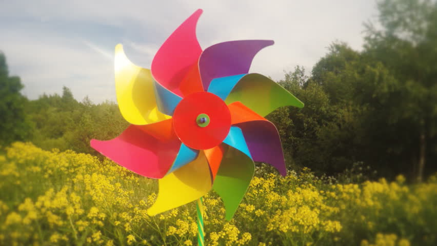 Header of pinwheel