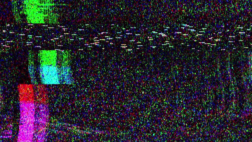 Glitch TV Static Noise Signal Problems | Shutterstock HD Video #1026784517
