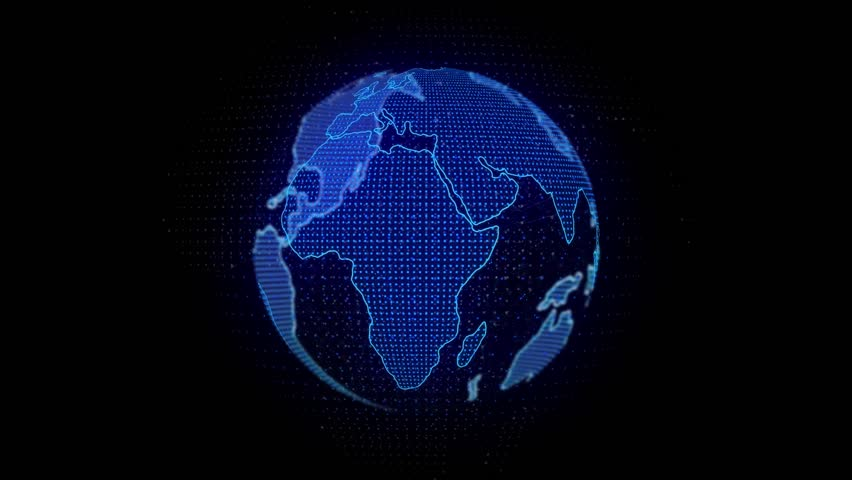 Global Network Connected. #1027810307