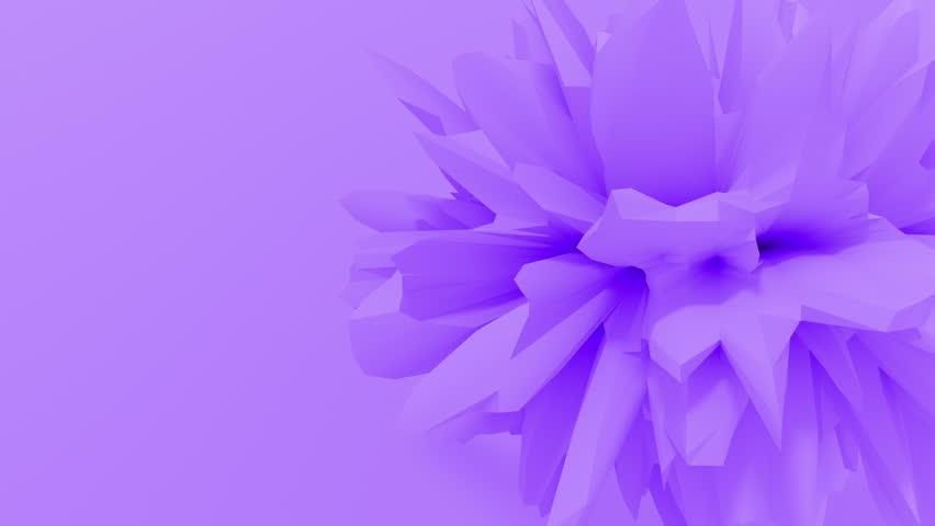 Abstract fractal 3d shape texture liquid object. 4K seamless loop animation. | Shutterstock HD Video #1027965707