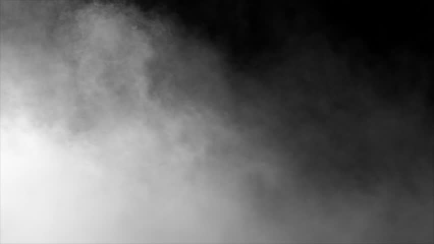 Smoke , vapor , fog - realistic smoke cloud best for using in composition, 4k, use screen mode for blending, ice smoke cloud, fire smoke, ascending vapor steam over black background - floating fog | Shutterstock HD Video #1028275427