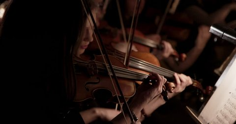 Russia Novosibirsk 2019  Symphony orchestra