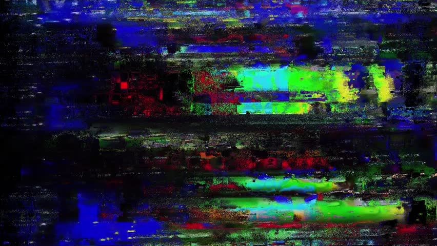 Glitch Computer Generated Animation Clip..You can Use For VFX Compositiong or Editing for Films.  | Shutterstock HD Video #1028526317