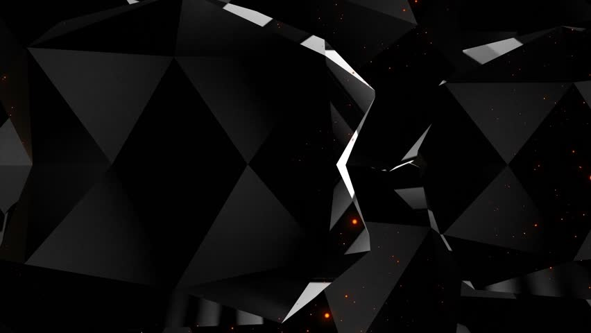 Dark black background diamonds edges seamless loop | Shutterstock HD Video #1028955827