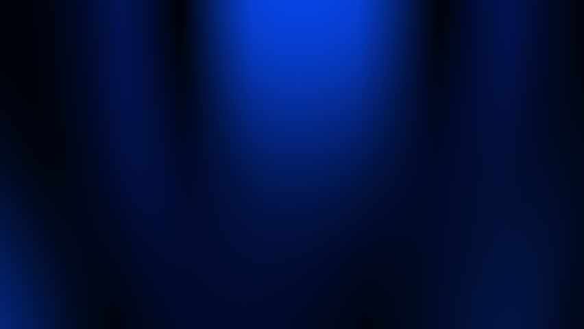 Abstract Blue Animated Background. Loopable. Seamless Looping Blurred Motion Theater Curtains Dark light Effect. Motion Background for Title or Text.