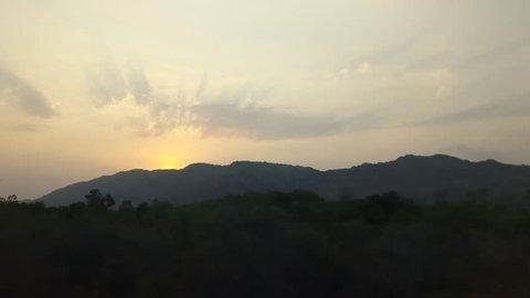 Sunset at Horsley Hills, Chittoor , Andhra Pradesh, India
