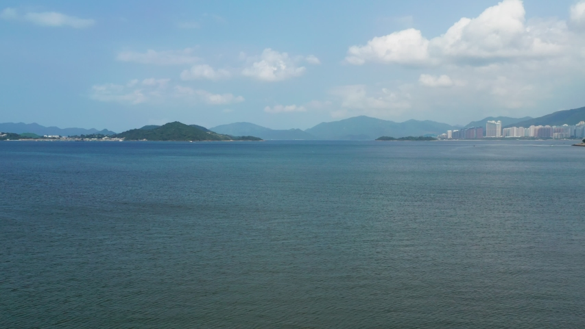 Tolo harbour in Hong Kong | Shutterstock HD Video #1030067987