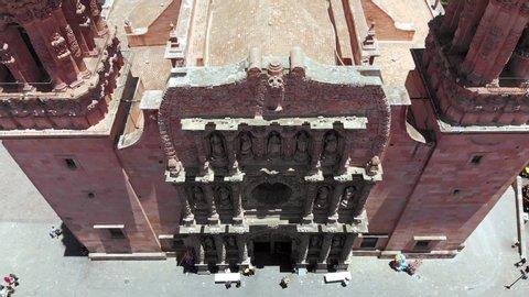 Zacatecas City Center Drone Footage