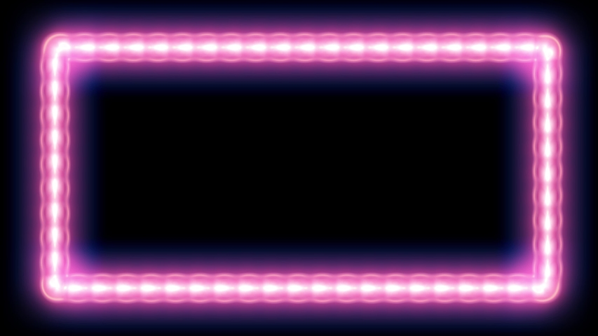 Neon colored screen box abstract background | Shutterstock HD Video #1030441907