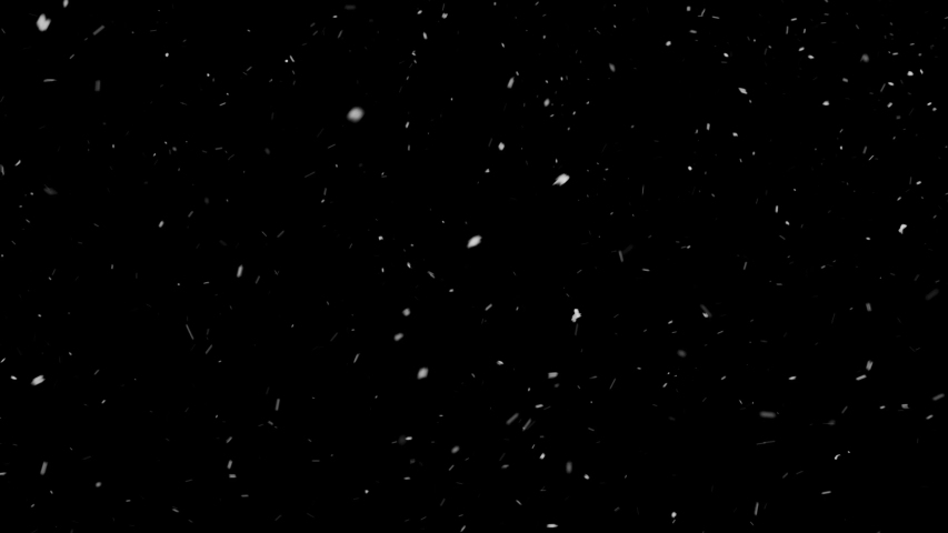 Lens Distortion Snow, falling snow isolated on black background in 4K to be used for composing, Slow Motion, Large and small snow snowflakes, Isolated falling snow, Alpha, Ethereal, Intense, Storm | Shutterstock HD Video #1031175557
