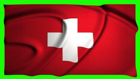 Switzerland Animation Flag Animation Green Screen Animation Switzerland video Flag video Green Screen video Switzerland swiss Flag swiss Green Screen swiss Switzerland 4k Flag 4k Green Screen 4k