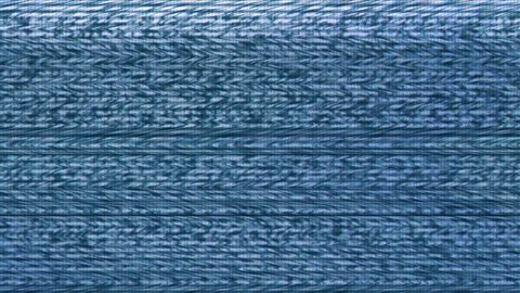 Television Screen with Static Noise from Lousy Broadcast Signal Reception, Bad Sync TV, Analogue Technology Background.