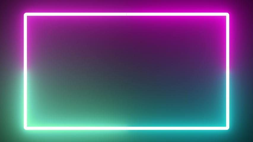 Interior laser led light lines modern | Shutterstock HD Video #1034023967