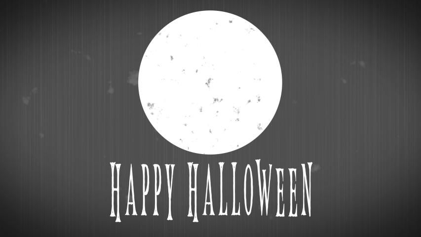 4K Retro Style - Happy Halloween Animation | Shutterstock HD Video #1035519167
