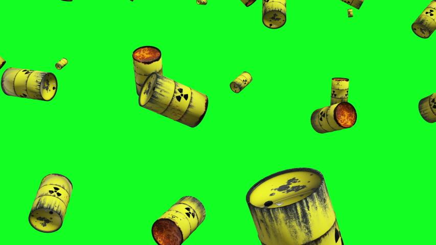 Radioactive Toxic Green Screen Toxic Barrel Toxic Radioactive Atomic Green Screen Atomic Barrel Atomic Radioactive Waste Green Screen Waste Barrel Waste Radioactive Yellow Green Screen Yellow Barrel   Shutterstock HD Video #1036683767