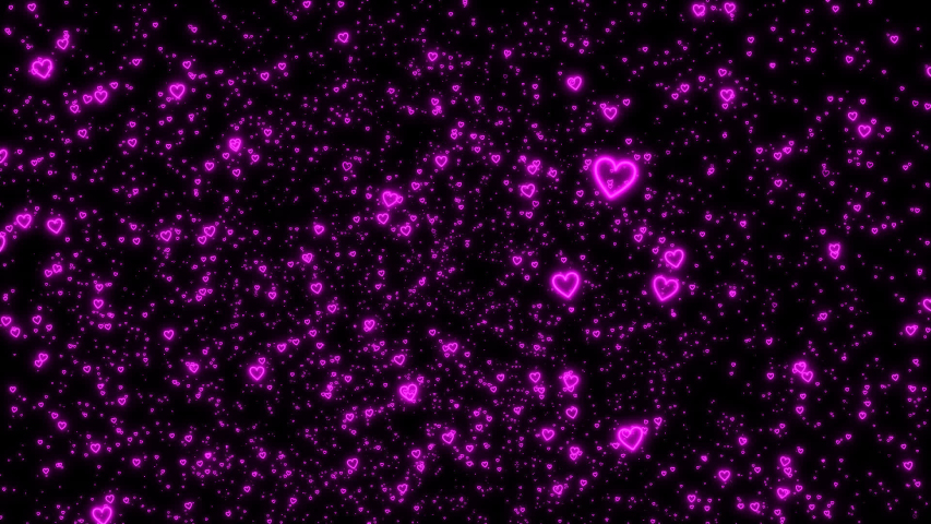 Particle of a lot of shining ring hearts(more shining) | Shutterstock HD Video #1037340107