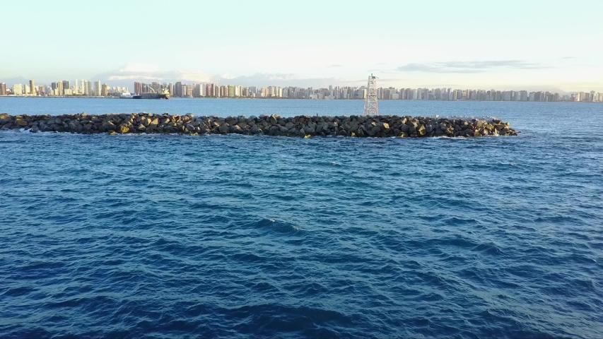 Fortaleza Sea - Ceará - Brazil | Shutterstock HD Video #1037350787