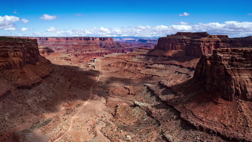4K Time lapse of Canyonlands National Park, Moab, Utah, USA | Shutterstock HD Video #1037496767