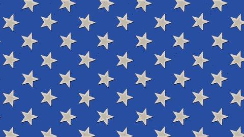 American Flag Moving Wallpaper Stock